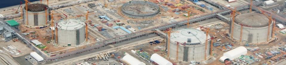 CONSTRUÇÃO DE TANQUES DE LNG